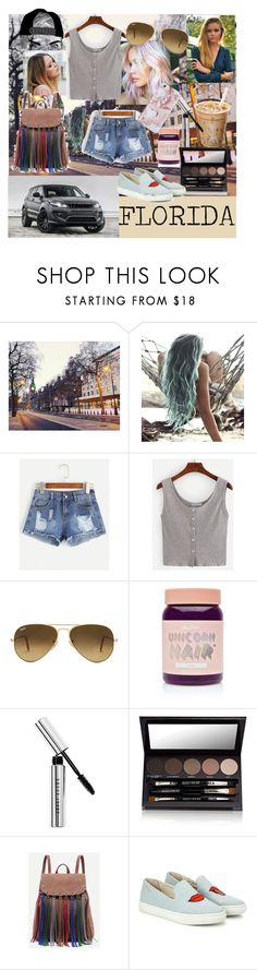 """Untitled #102"" by floridanuha ❤ liked on Polyvore featuring MANGO, Ray-Ban, Lime Crime, Bobbi Brown Cosmetics, Laura Mercier and Soludos"