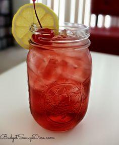 Cranberry Cocktail, Malibu ( Mango), Rum, Peach schnapps