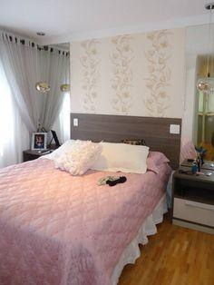Estilo romântico e charmoso de decorar um quarto de casal!!