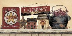 Self Serve Laundry by artist Linda Spivey