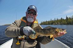 Bill had a great time when he journeyed to the lake known as the Wabatongushi and stayed at @Rachel Errington's Wilderness Island Lodge located in beautiful Ontario's Algoma Country. He describes this beautiful lake as being full of walleye and great pike! Check out Bill's full review of his time on the Wabatongushi and catch the full-length episode of The New Fly Fisher at the end of his review beauti lake