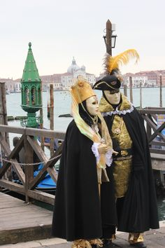 Karneval in Venedig - by Francois Sadler
