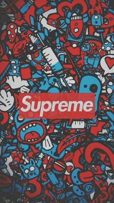 Supreme wallpaper collection for mobile Hypebeast Iphone Wallpaper, Graffiti Wallpaper Iphone, Deadpool Wallpaper, Pop Art Wallpaper, Glitch Wallpaper, Galaxy Wallpaper, Cartoon Wallpaper, Wallpaper Backgrounds, Logo Wallpaper Hd