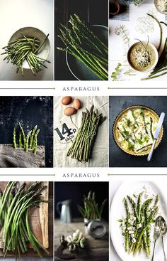 Asparagus...scroll to the bottom and find yourself the soup recipe