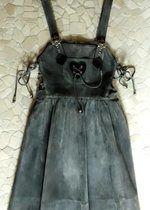 Echt Leder # Landhauskleid # Trachtenkleid # Gr. 36 + Handtasche