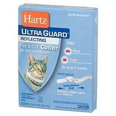 Hartz Chz02899 1 Flea and Tick Reflecting Cat Collar, 1 EA (Pack of 6) ** Continue to the product at the image link.