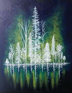 Hey! Check out Forest of Lights II at Oregon City Icehouse - Paint Nite Event