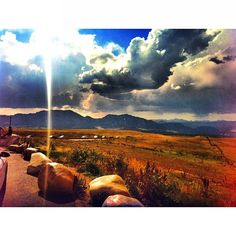 Really Cool Shot of #Boulder #Colorado from the Hwy36 Lookout Point! #BoulderColorado  #OnlyInBoulder