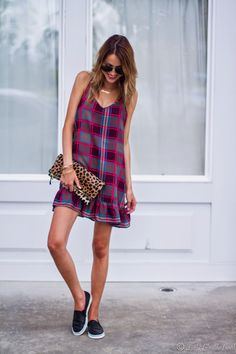 Little Blonde Book by Taylor Morgan | A Life and Style Blog : Little Plaid Dress