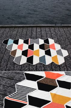 one sheepish girl: Geometric Knit & Crochet Inspiration