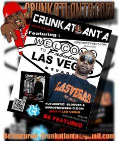 HipHopNews24-7.com Relocated to Las Vegas- Crunkatlanta Magazine Aug 2014
