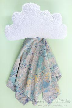 Precioso Dou Dou nube para el bebé (tutorial paso a paso) #manualidades #DIY