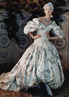 Christian Lacroix Couture ; Photographed by : Juan Gatti for Vogue Spain October 2006 jaglady