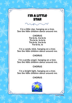 I'm A Little Star | Kids Video Song with FREE Lyrics & Activities!