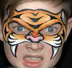 Animal Face Paintings, Animal Faces, Japanese Beetles, Theatre Makeup, Make Up Art, Leopards, Animals For Kids, Lions, Tigers