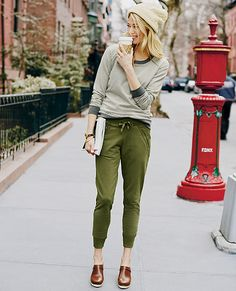Stockholm Pants in French Terry   Womens Bottoms, $75