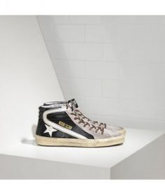 the best attitude a6b2e 71d07 Golden Goose Mid Star Sneakers In White Grey With Gold Star - Golden Goose  Outlet www.getggdb.com