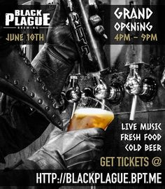 GRAND OPENING PARTY! Get a ticket, reserve your spot! 💀🍺🎉🎸🤘🏻🌮🌮🌮🤘🏻🎸🎉🍺💀 ... Spread the Plague, bring your squad . . . #beermakesfriends #sdbeer #sandiegobeer #vistabeer #drinklocal #aplagueofflavor #sandiego #sandiegoconnection #sdlocals #sandiegolocals - posted by Jarred Doss https://www.instagram.com/thebossdoss. See more San Diego Beer at http://sdconnection.com