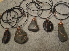 Treasures from the River: Wire Wrapped Stones — Jewelry Making Journal
