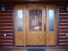 wolf carved door - Google Search