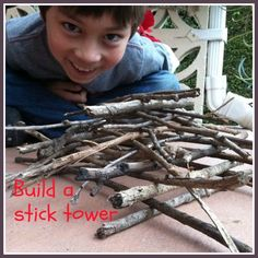 Build a Stick Tower with Go Explore Nature