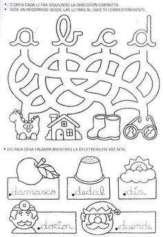 Caderno de letra cursiva para imprimir - Como Fazer Teaching Cursive, Cursive Writing Worksheets, Alphabet Worksheets, Preschool Worksheets, Make Tutorial, Preschool Writing, Grande Section, Teaching Resources, Calligraphy