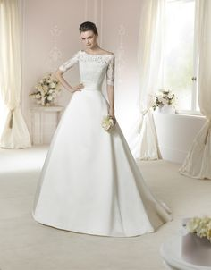 Brautkleid Janais aus der White One Brautmoden Kollektion 2015 :: bridal dress from the 2015 collection by white one.