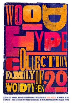 betype:    WOOD_TYPE_COLLECTION by Mateusz Machalski / DUCE TYPE