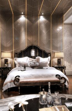 Best and Cool Luxury bedroom Furniture Design Ideas - Page 5 of 46 - My Lovely Home Design Luxury Bedroom Design, Master Bedroom Design, Dream Bedroom, Luxury Interior, Home Interior, Home Bedroom, Bedroom Decor, Interior Design, Bedroom Designs