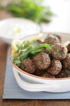 Spicy Arabic lamb meatballs