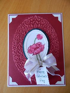 Dianne's cards--SU embossing folder and Simply Sketched stamp