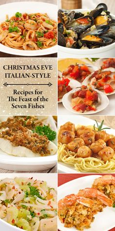 Holiday Menu: An Italian Christmas Eve - Christmas: Recipes, DIY and En . - Holiday Menu: An Italian Christmas Eve – Christmas: Recipes, DIY and Entertaining – - Christmas Eve Dinner Menu, Italian Christmas Dinner, Dinner Party Menu, Christmas Parties, Christmas Treats, Dinner Ideas, Christmas Holiday, Christmas Recipes, Traditional Christmas Eve Dinner