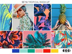 SS'16 TROPICAL MASH-UP