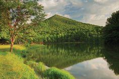 Abbott Lake at the Peaks of Otter