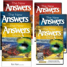 The Complete New Answers Combo - 3 New Answers Books and corresponding DVD's - quick answers to questions