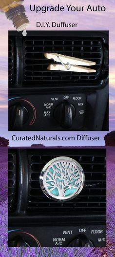 Tree Car Vent Diffuser Essential Oil