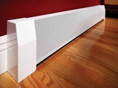 How To & Repair:Decorative Heater Cover Replacement Baseboard Heater Cover Replacement