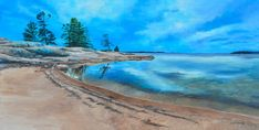 Northern Landscapes of Ontario Teresa Thompson Oakville Landscape Paintings, Landscapes, Canadian Nature, Algonquin Park, Two Rivers, Fine Art Photography, Ontario, Pond, Waves