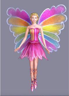 Elina from Barbie Fairytopia Magic of the Rainbow