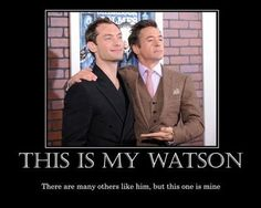 Robert Downey Jr and Jude Law - Holmes and Watson