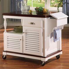 Wildon Home ® Dale Kitchen Cart & Reviews | Wayfair