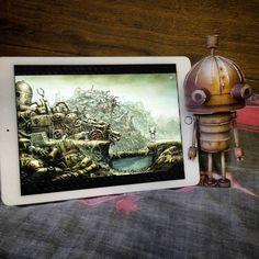 """Machinarium robot #papercraft"""