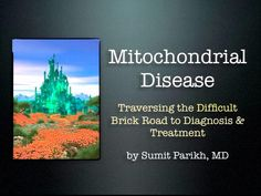 2012 Symposium - Mitochondrial Disease - What Is It and What are the Potential Therapies Out There? by UMDF. Sumit Parikh, M.D.