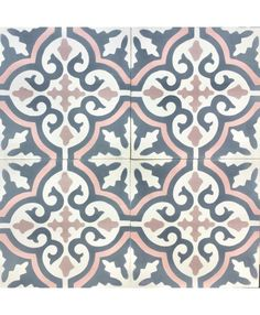 This Pin has tons of ideas and inspiration for tile that makes an impact on your space! Moroccan, cement, even hexagon tile in different colors and patterns- I love it all! Pink Bathroom Tiles, Bathroom Flooring, Morrocan Bathroom, Pink Bathrooms, Moroccan Bedroom, Moroccan Interiors, Floor Patterns, Tile Patterns, Pink Toilet