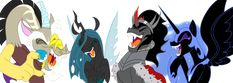 Pony Villains United by Mickeymonster.deviantart.com. Who has the evilest of evil laughter?