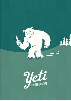 Yeti Frozen Custard by Joe Wilper, - Interesting Images - Yogurt