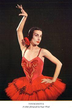 Fotografía en color de Tamara Toumanova. #documentacion #danza #ballet