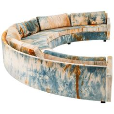 Rare Milo Baughman Sectional Sofa Plywood Furniture, Sofa Furniture, Furniture Design, Painted Furniture, Fine Furniture, Annie Sloan, Milo Baughman, Art Deco Home, Sofa Sale