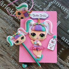 Kids Crafts, Diy Crafts For Girls, Foam Crafts, Cute Polymer Clay, Polymer Clay Crafts, Sewing Kids Clothes, Sewing For Kids, Pencil Crafts, Puppet Crafts