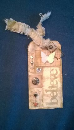 My tag for Tim Holtz's May tag challenge - thanks Tim for getting me back in the scrap cave! #12tagsof2014